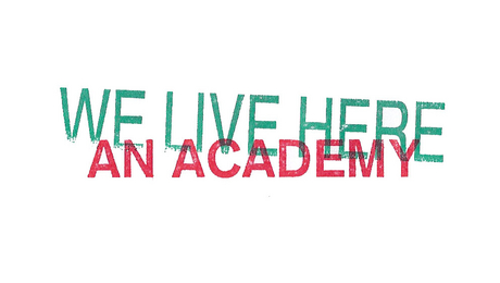 WE LIVE HERE summer academy