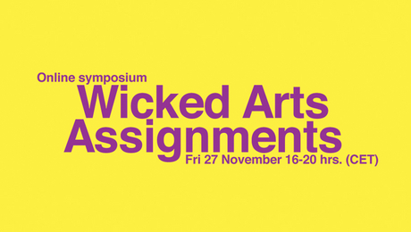 Online symposium Wicked Arts Assignments