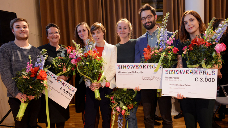 The winners of the Graduation Prize 2017