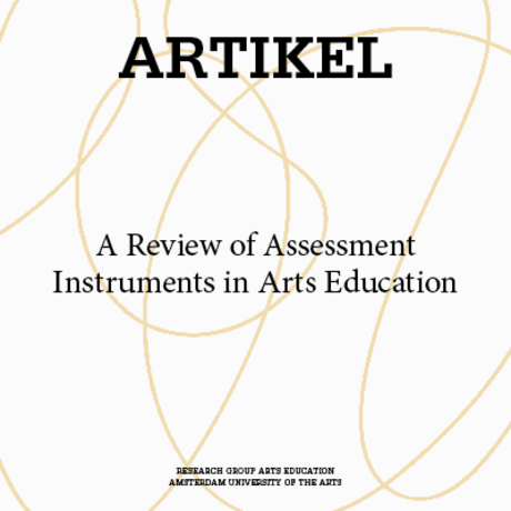 A Review of Assessment Instruments in Arts Education
