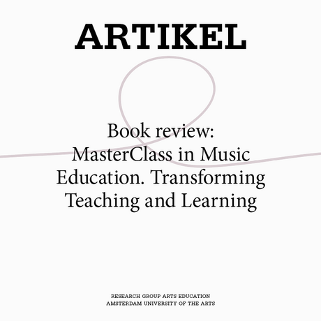 Book review: MasterClass in Music Education. Transforming Teaching and Learning