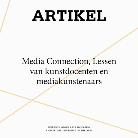 Media Connection, Lessen van kunstdocenten en mediakunstenaars