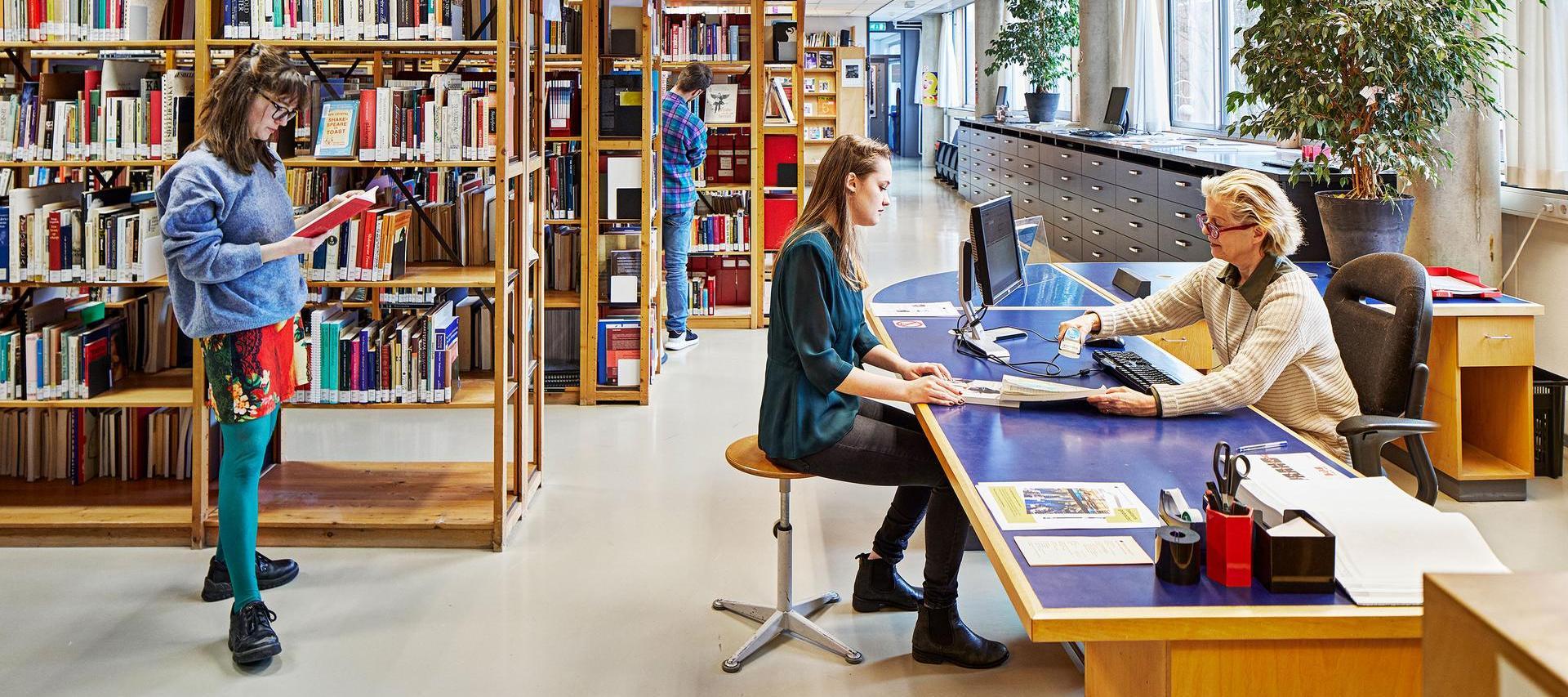 Library - Amsterdam University of the Arts - AHK