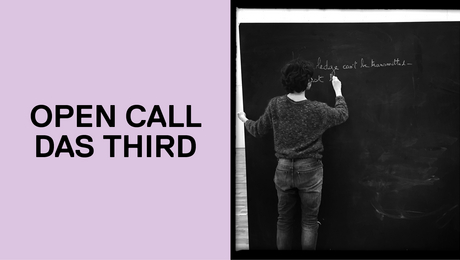 Call for Applications: DAS THIRD, 3rd Cycle Research Group - Cohort 3