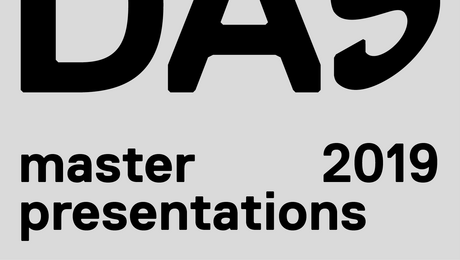 Save the date: DAS Master Presentations 2019